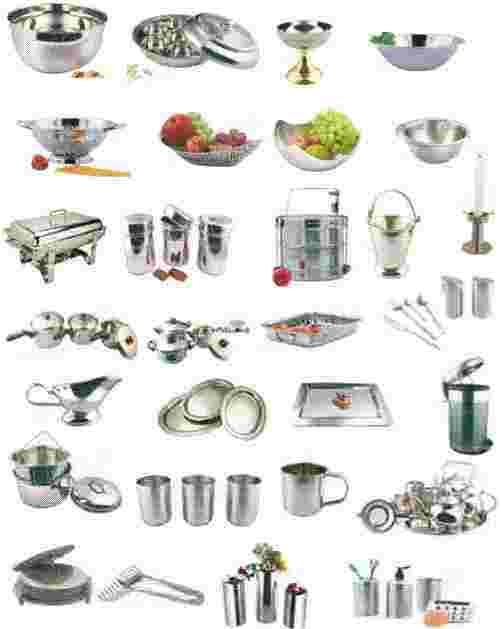 Stainless steel kitchenware Photo - 2
