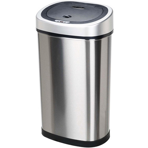 Stainless steel trash can kitchen Photo - 12
