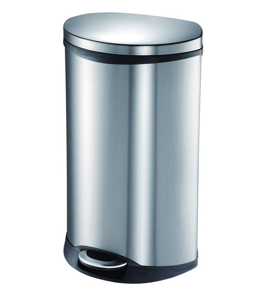 Stainless steel trash can kitchen Photo - 4