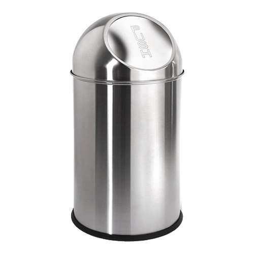 Stainless steel trash can kitchen Photo - 8