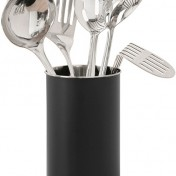 Stainless steel utensil holder for kitchen Photo - 1