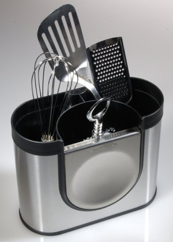 Stainless steel utensil holder for kitchen Photo - 9