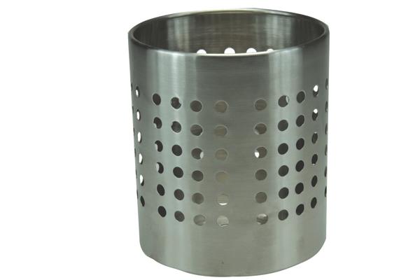 Stainless steel utensil holder for kitchen Photo - 6