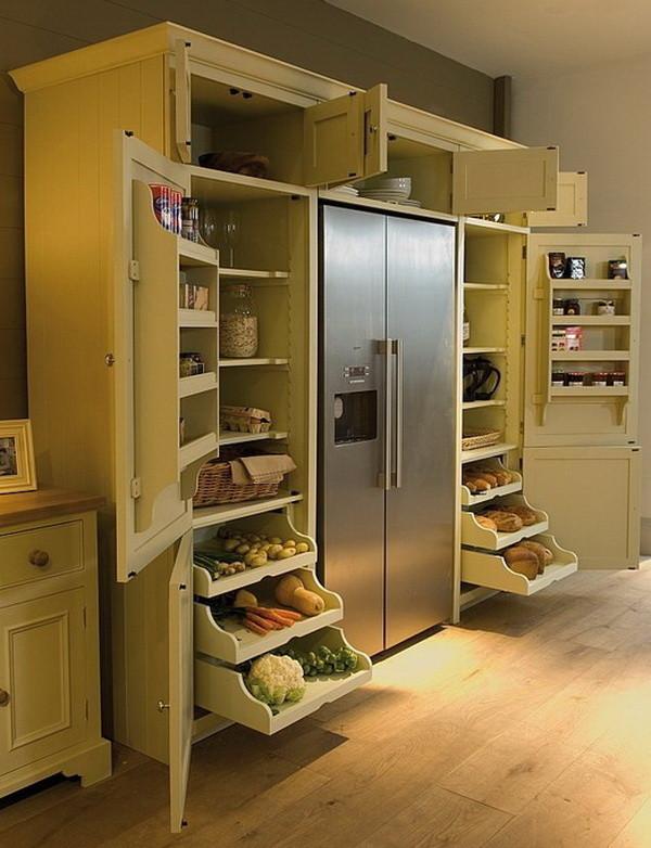 Stand alone kitchen pantry Photo - 9