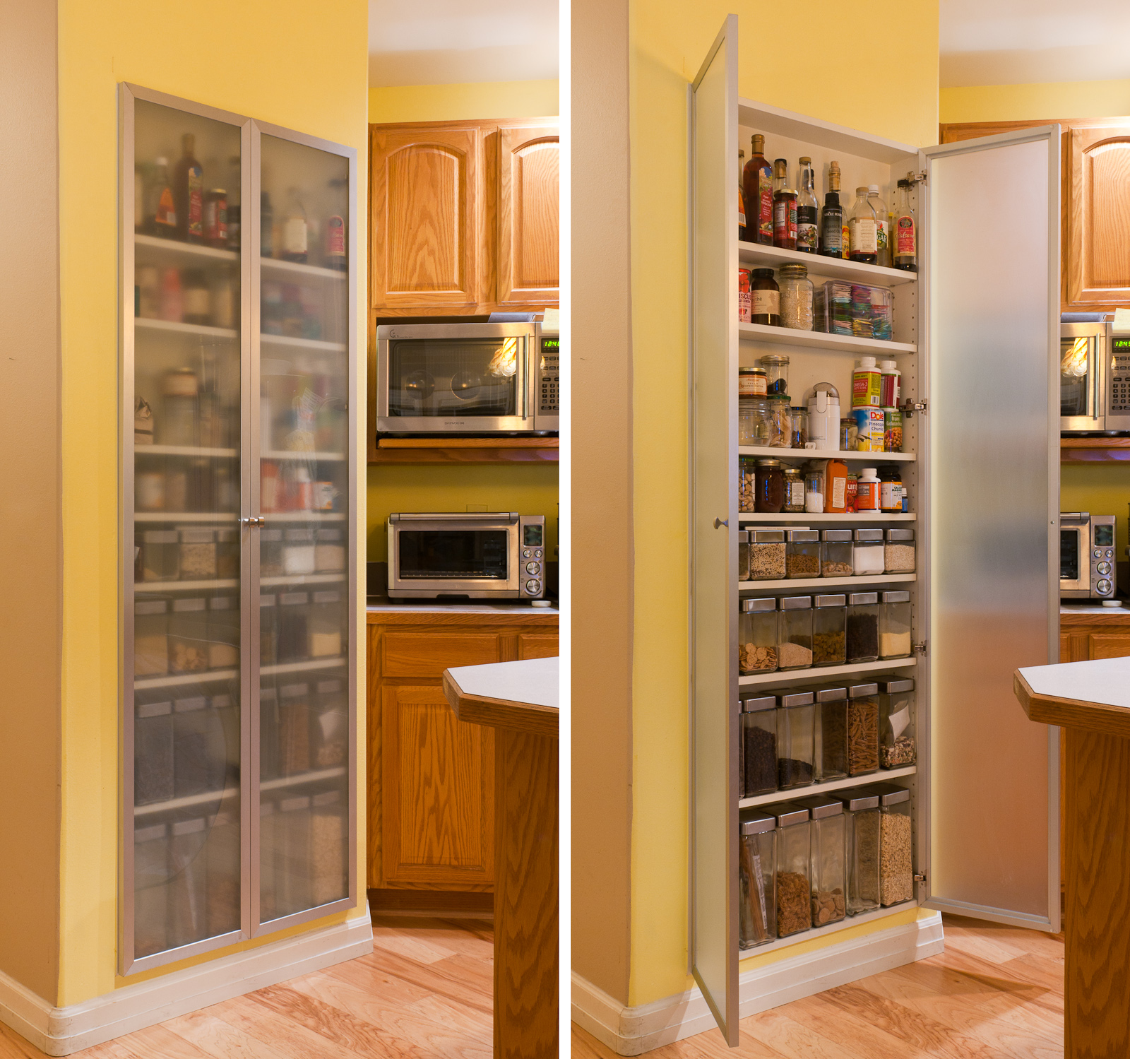 Stand alone kitchen pantry cabinet Photo - 10