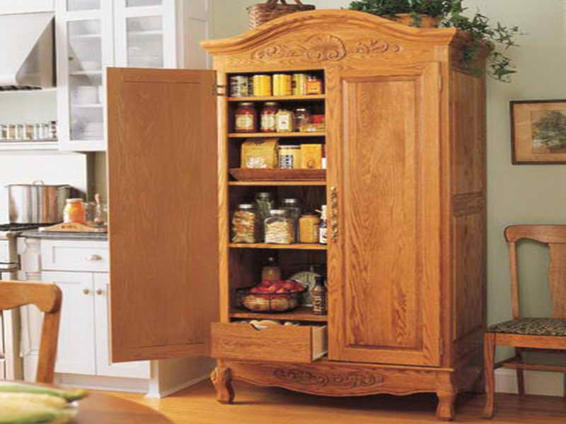 10 Photos To Stand Alone Kitchen Pantry Cabinet