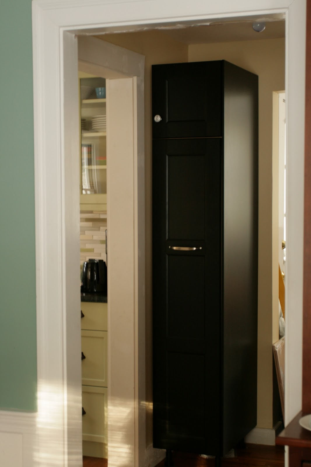 Stand alone kitchen pantry cabinet Photo - 6