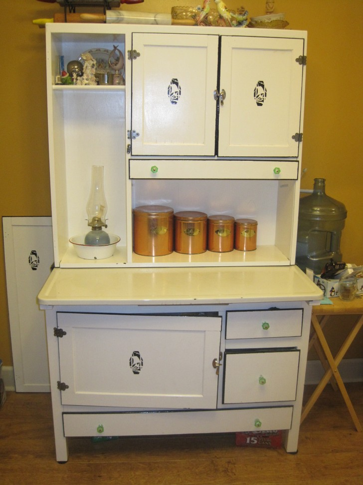 Stand alone kitchen pantry cabinet Photo - 7