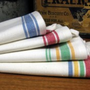 Striped kitchen towels Photo - 1