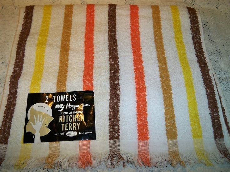 Striped kitchen towels Photo - 8