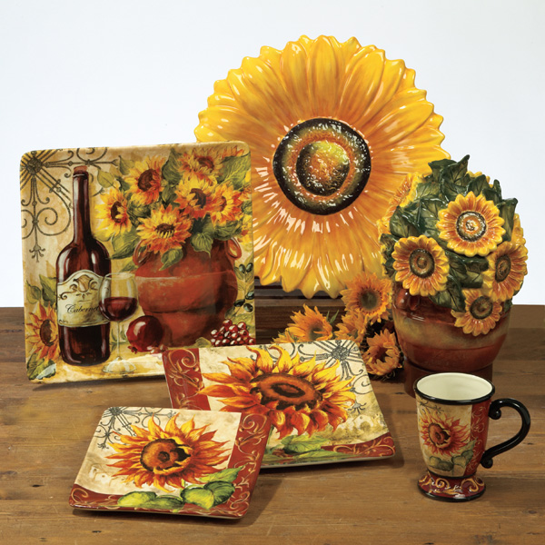 Other Photos To Sunflower Kitchen Decor
