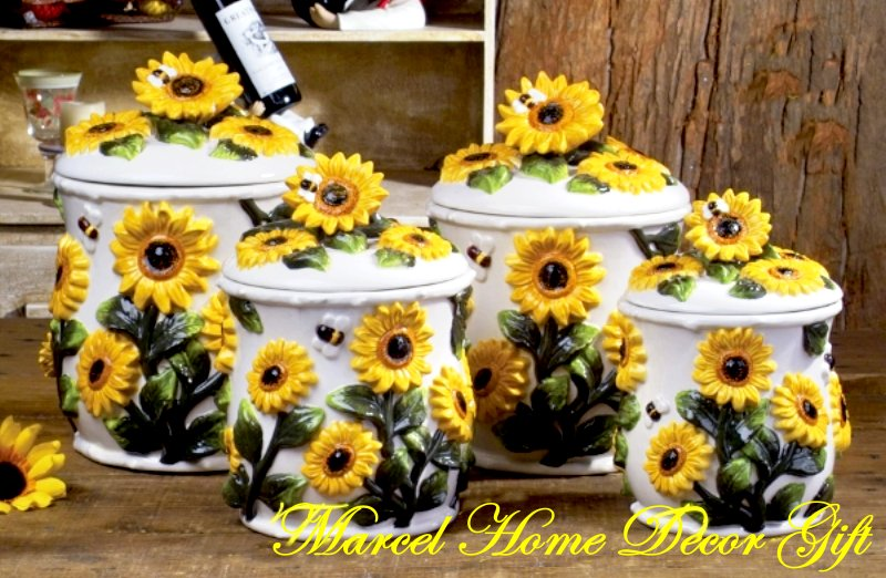 Sunflower Kitchen Decor Ideas