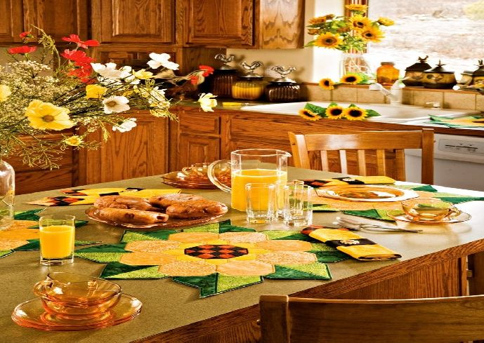 Sunflower Kitchen Decor Photo 8 Kitchen Ideas