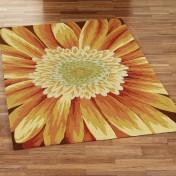 Sunflower kitchen rugs Photo - 1
