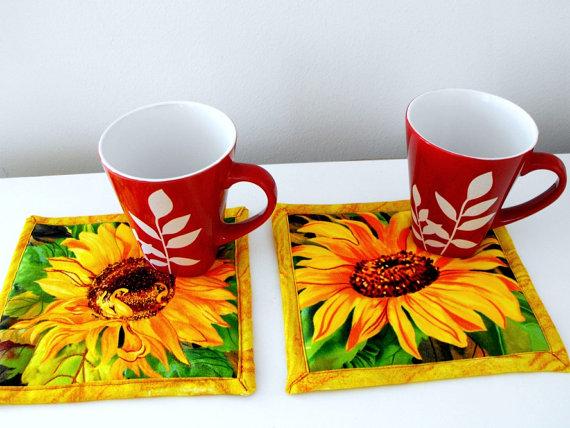Sunflower kitchen rugs kitchen ideas for Sunflower kitchen ideas