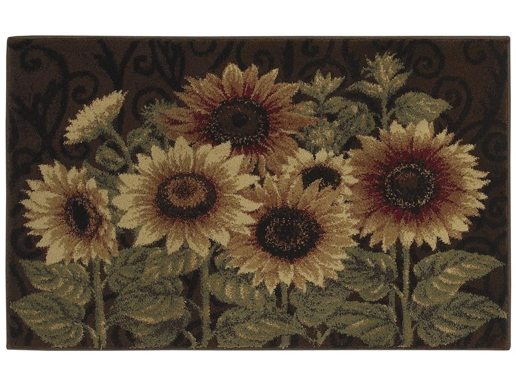Sunflower Kitchen Rugs Kitchen Ideas