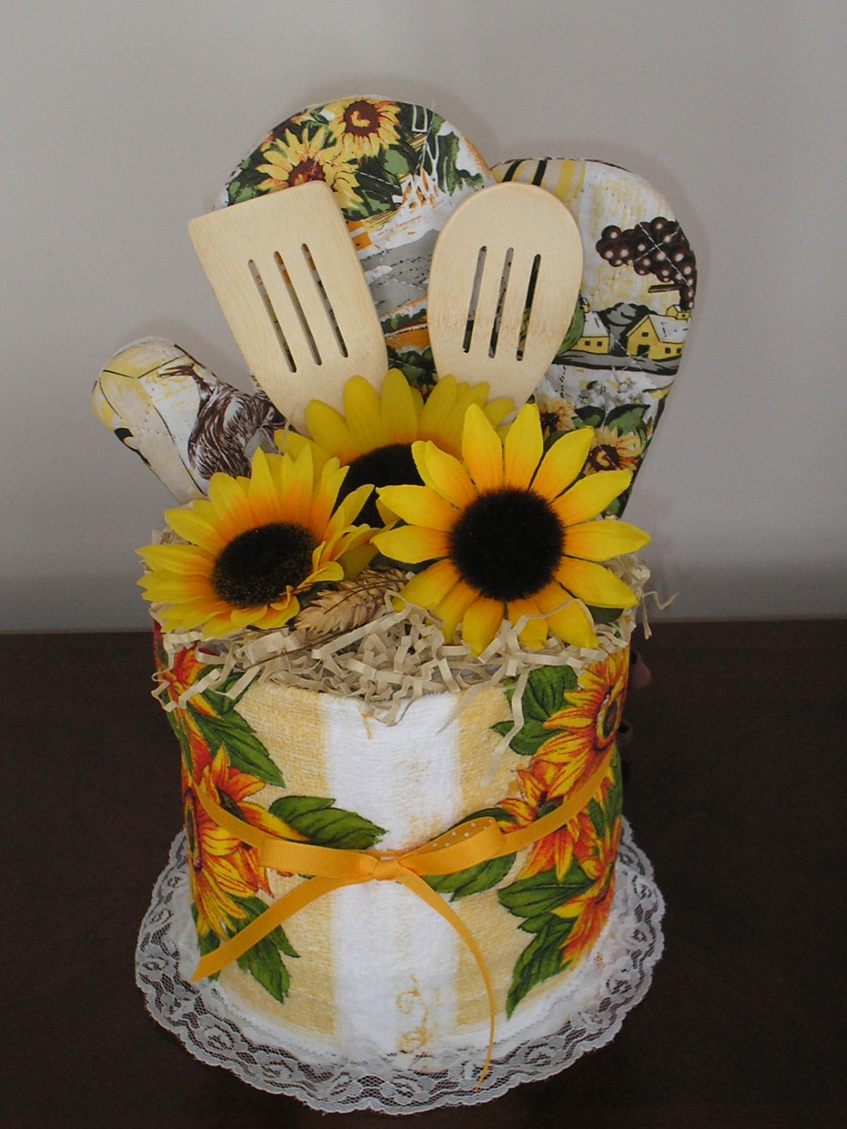 10 Photos To Sunflower Kitchen Towels