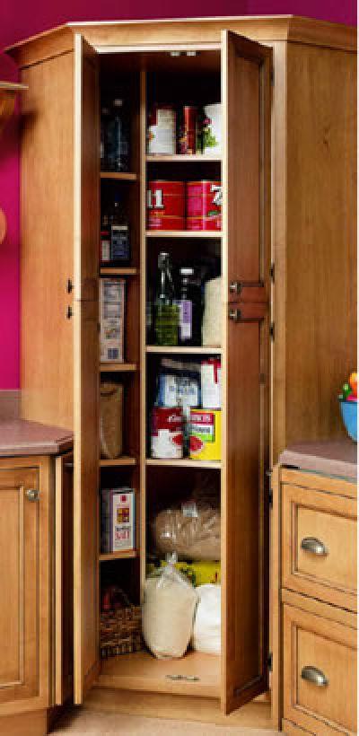 Tall kitchen cabinet Photo - 7