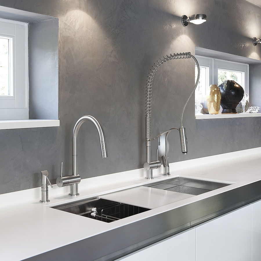 Tall kitchen faucets Photo - 7