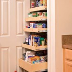 Tall kitchen pantry cabinet Photo - 1