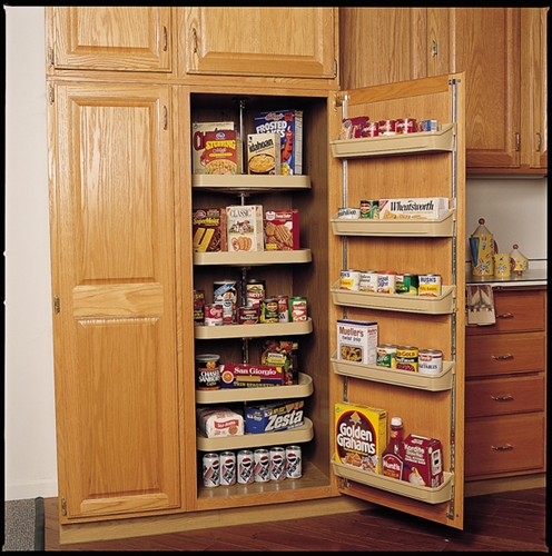 Tall kitchen pantry cabinet furniture Photo - 3