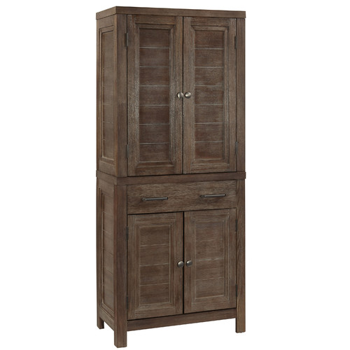 Tall kitchen pantry cabinet furniture Photo - 7