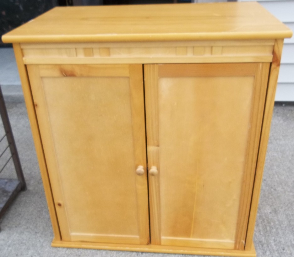 Tall kitchen pantry cabinet furniture Photo - 8