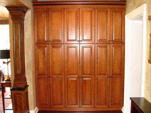 Tall kitchen utility cabinets Photo - 6
