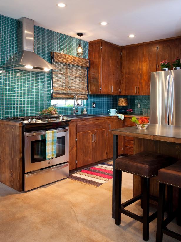 Teal kitchen appliances Photo - 10