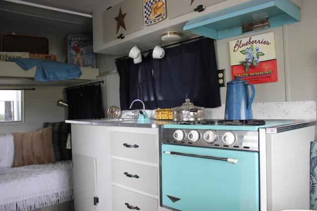 Teal kitchen appliances Photo - 1