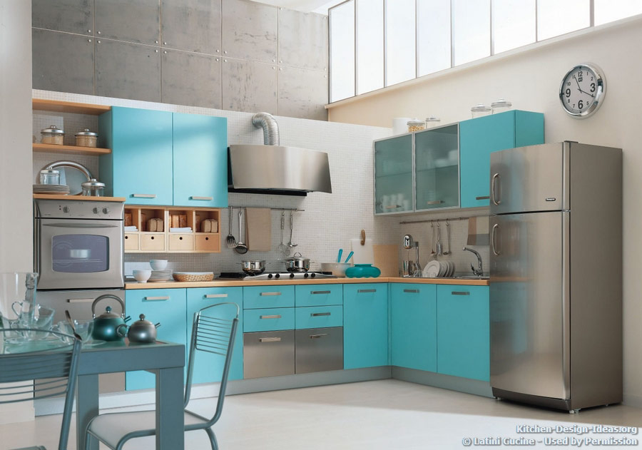 Teal kitchen appliances | | Kitchen ideas