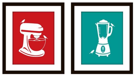 Teal kitchen appliances Photo - 5