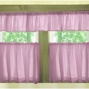 Tiered kitchen curtains Photo - 1