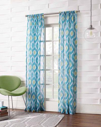 Amazing ... Turquoise Kitchen Curtains Photo   9 ...