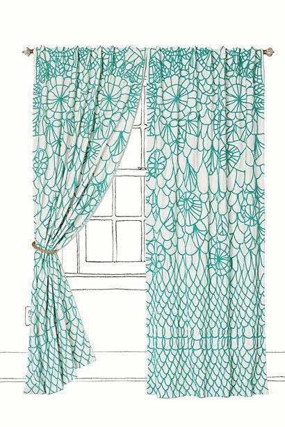 ... Turquoise Kitchen Curtains Photo   10 ...