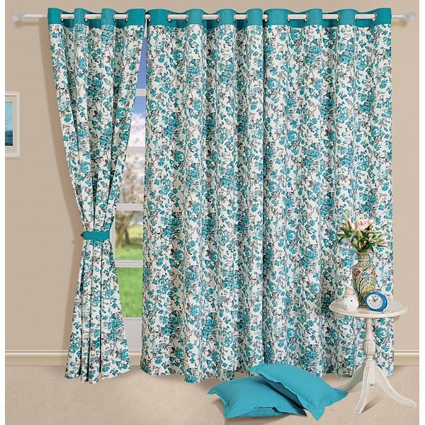 Good ... Turquoise Kitchen Curtains Photo   7 ...