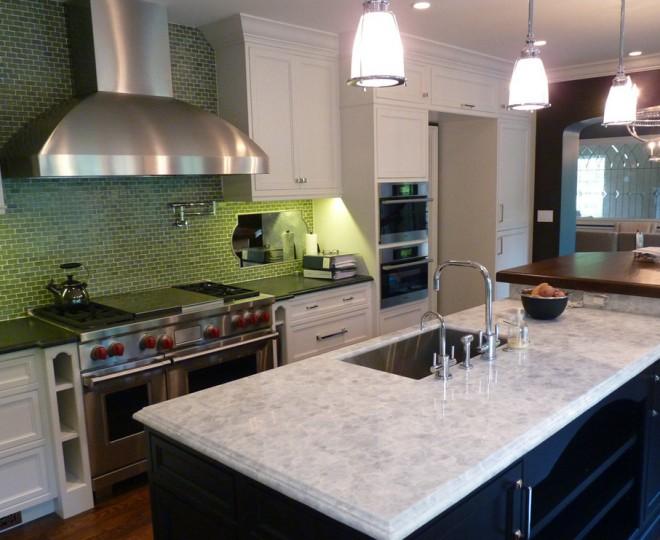 Turquoise kitchen rug Photo - 2
