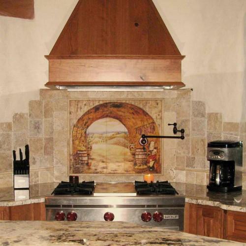 tuscan kitchen curtains photo - 11 | kitchen ideas