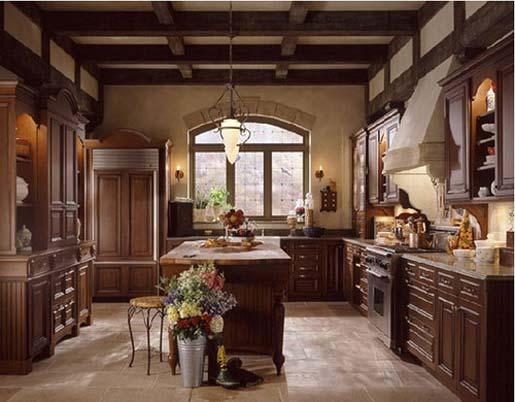 Tuscan kitchen curtains Photo - 3