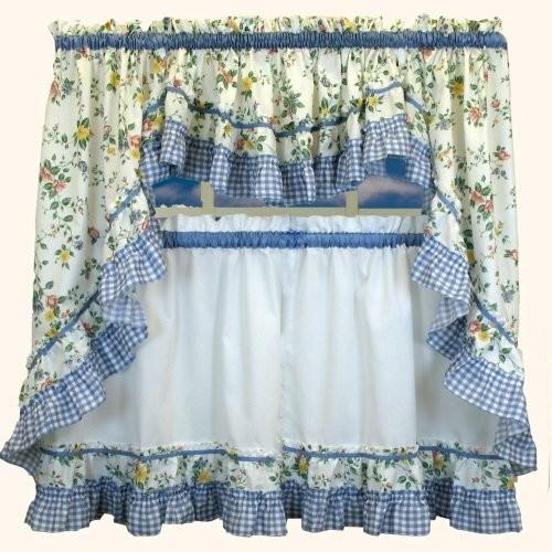 Tuscan kitchen curtains Photo - 5