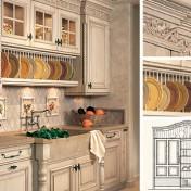 Tuscan style kitchen curtains Photo - 1