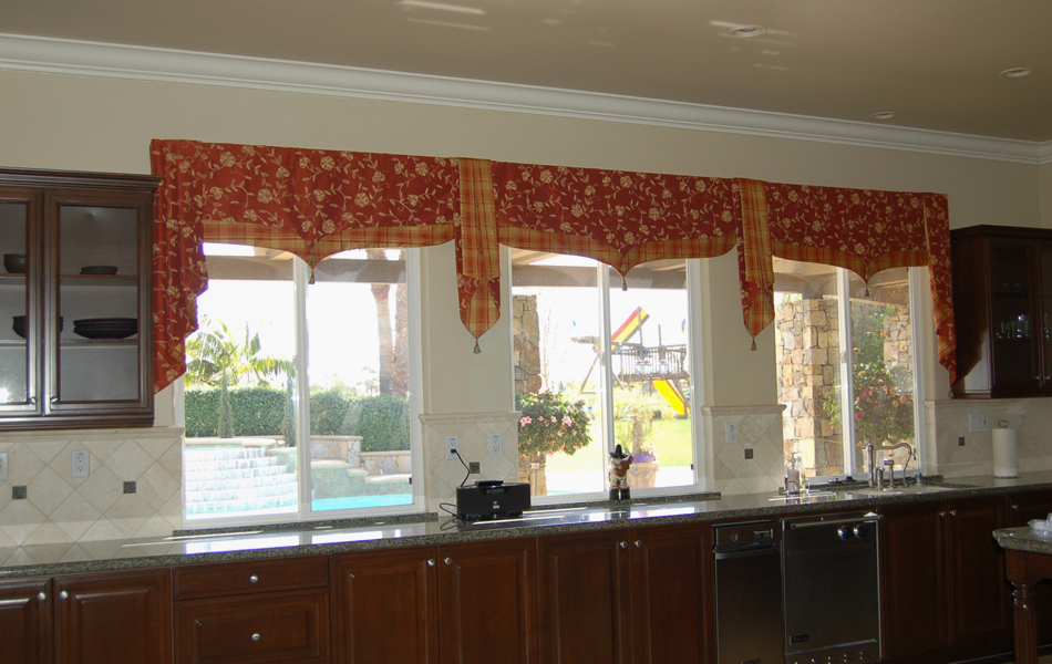 Tuscan style kitchen curtains Photo - 9
