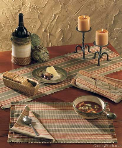 Tuscan style kitchen curtains Photo - 7