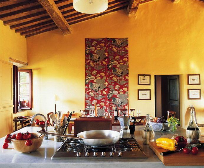 Tuscany kitchen curtains Photo - 10