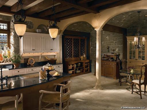 Tuscany kitchen curtains Photo - 5