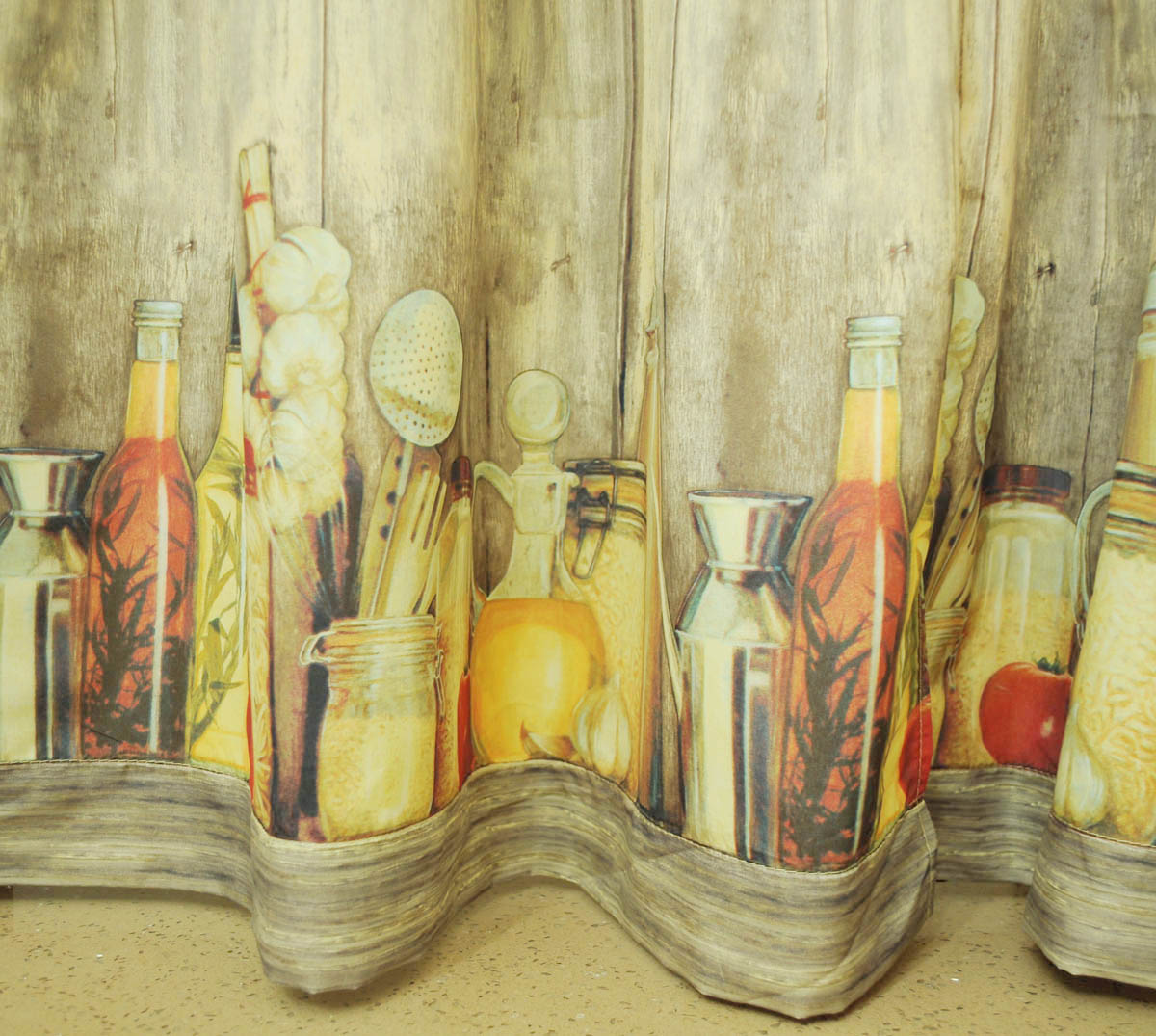 Tuscany Kitchen Curtains Photo 8 Kitchen Ideas
