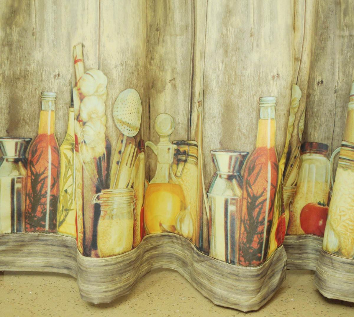 Tuscany kitchen curtains Photo - 6