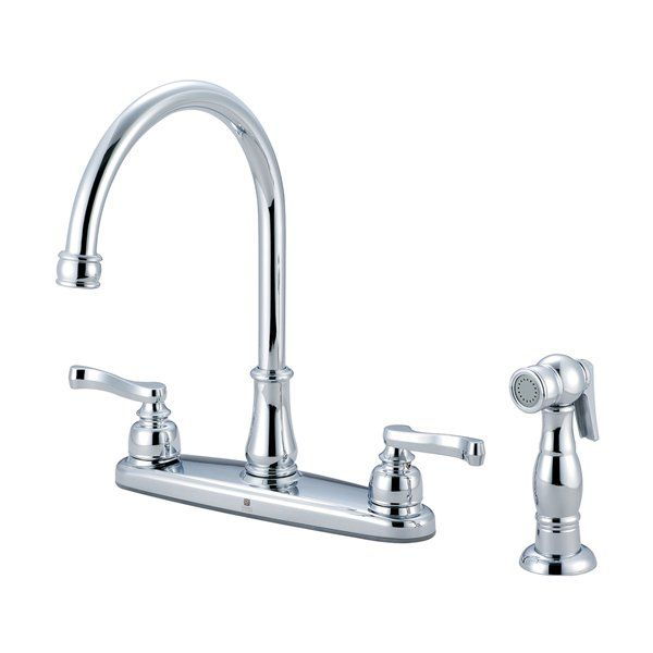 Two handle kitchen faucet Photo - 10