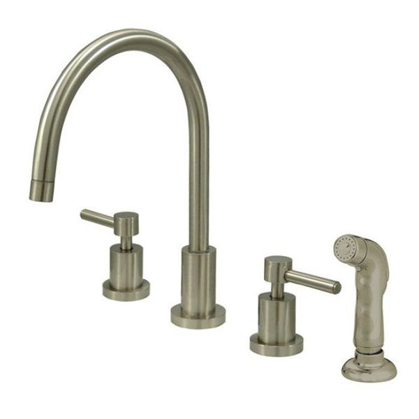 Two handle kitchen faucet Photo - 11