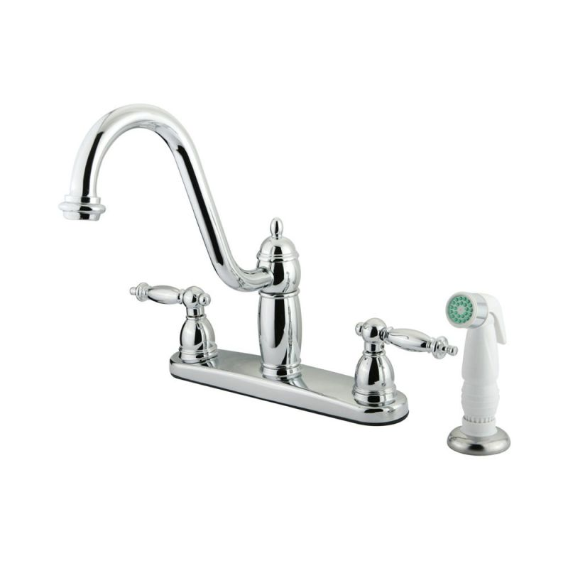 Two handle kitchen faucet Photo - 3